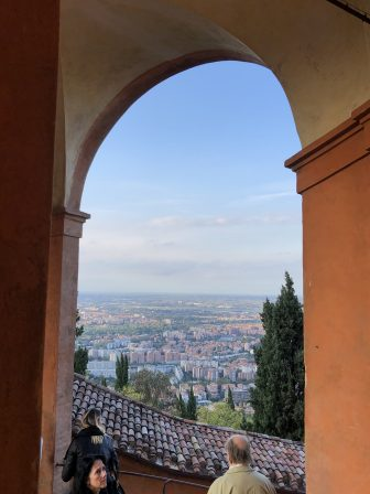 Italy-Bologna-Basilica di San Luca-view