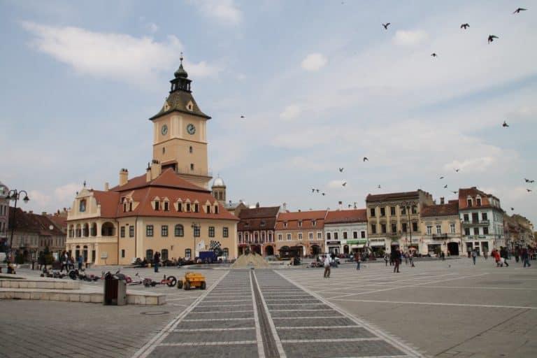 ルーマニア-ブラショフとその周辺