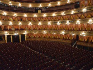 Visited Teatro Colon