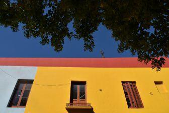 ラ・ボカ地区の色