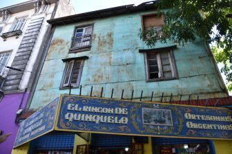 ラ・ボカ地区の古い家