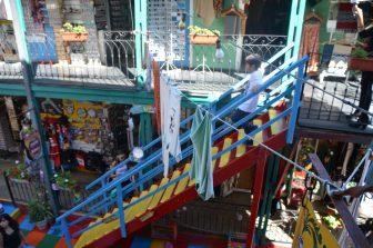 ラ・ボカ地区の歴史的な集合住宅