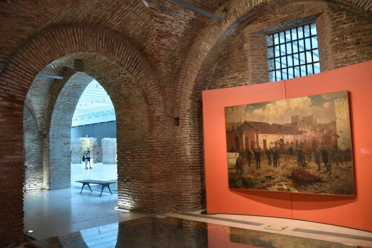 Última comida y museos