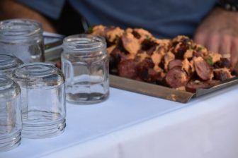 アルゼンチン肉の専門店、ラ・カブレラのチョリソー