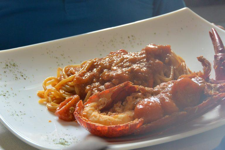The Lobster Spaghetti in Castelsardo