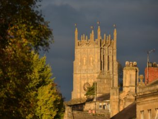 England, Chipping Campden – roofs, Oct.2013