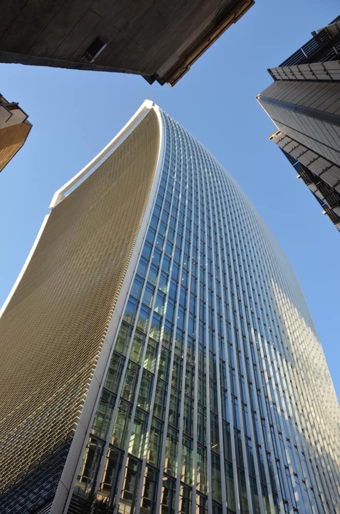 ロンドンの高層ビル