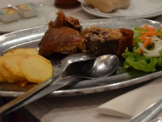 The restaurant with good piglet meal