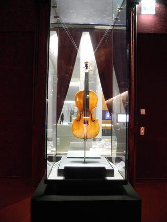 Cremona, Violin Museum – guarding, Jan.2018