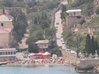 クリミア半島、ヘルソネソス-子供 2013年7月