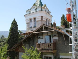 Ukraine, Yalta – old house, July 2013