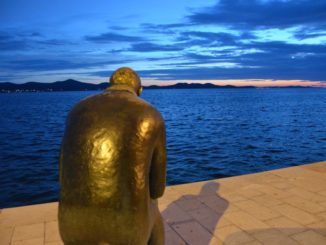 Croatia, Zadar – from behind, July 2014