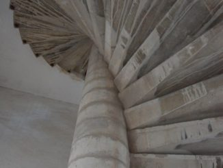 Croatia, Zadar – winding staircase, July 2014