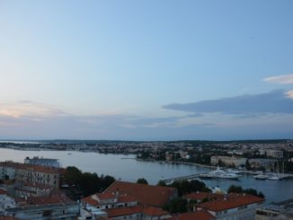 Croatia, Zadar – evening view, July 2014