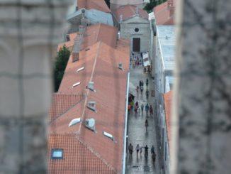 Croatia, Zadar – from the fence, July 2014