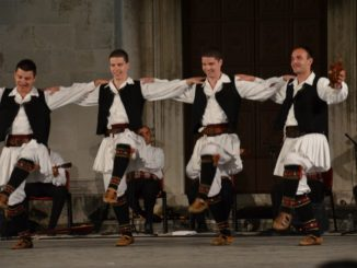 Croatia, Zadar – dancers 3, July 2014