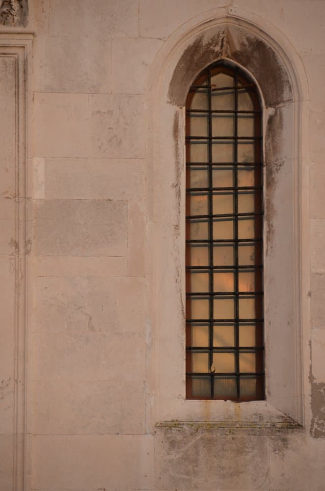 Croatia, Zadar – tall window, July 2014 (Zadar)