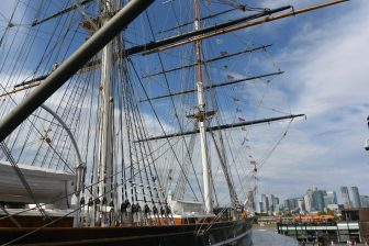 England-London-Greenwich-Cutty Sark-outside-view