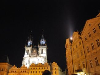 Czech, Prague – night view, Sept.2013