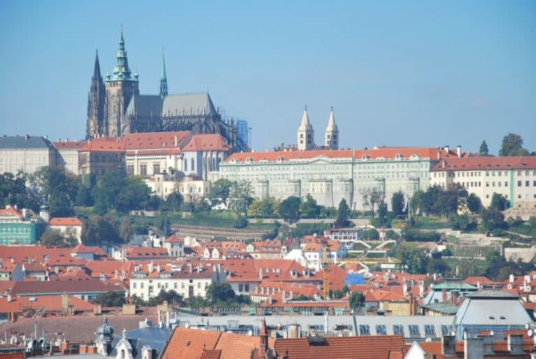 Visita al castello di Praga