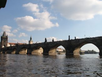 The famous Charles Bridge
