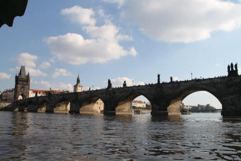 The famous Charles Bridge