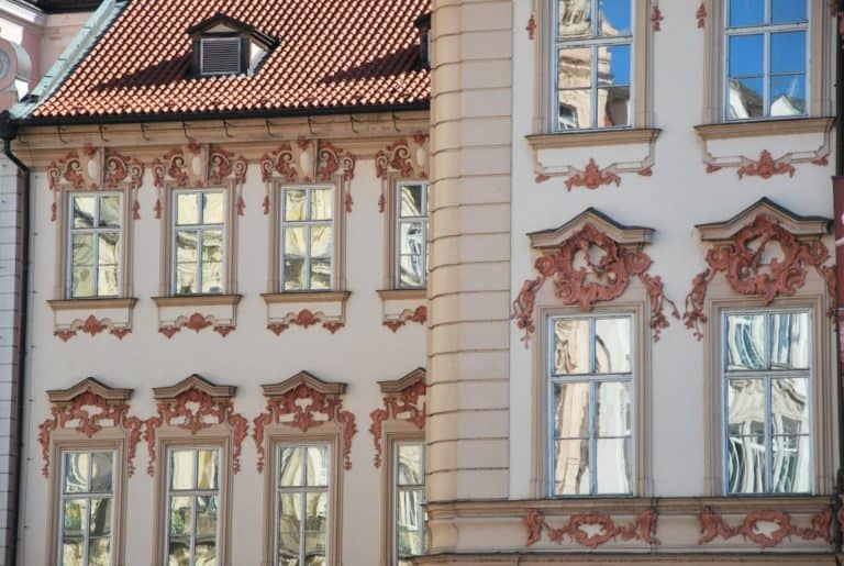 Czech, Prague – reflections on window, Sept.2013 (Praga)