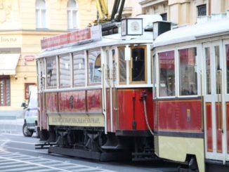 Czech, Prague – old tram, Sept.2013