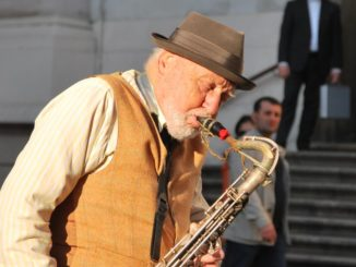 Czech, Prague – saxophone, Sept.2013