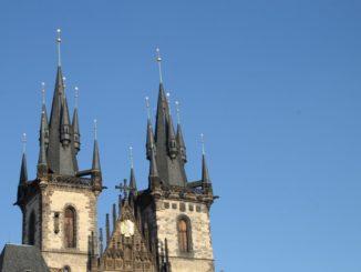 Czech, Prague – twin tower, Sept.2013
