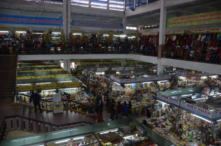 Mercado en Da Nang