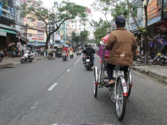 Cyclo a Da Nang in Vietnam
