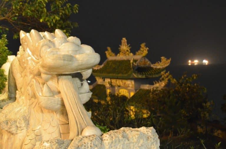 Sfortunati per vedere il panorama notturno a Da Nang