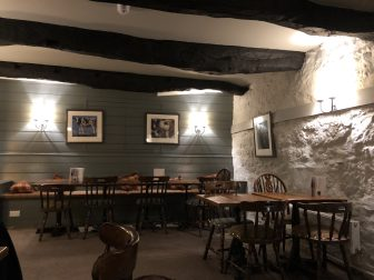 England-Devon-Dartmoor-North Bovey-gastropub-Ring of Bells-interior