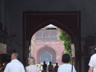 India, Delhi – entrance, Sept. 2006