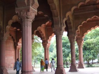 India, Delhi – pillars, Sept. 2006