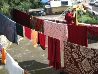 India, Dharamsala – washings, Sept.2006