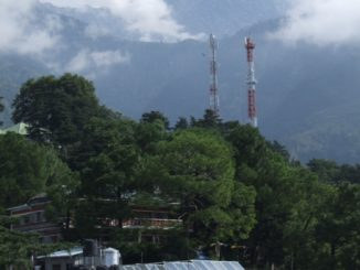 India, Dharamsala – view, Sept.2006