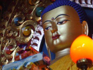 India, Dharamsala – Buddha, Sept.2006