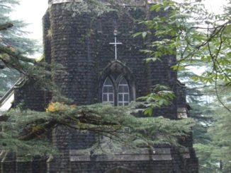 India, Dharamsala – church, Sept.2006