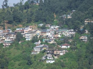 India, Dharamsala – town, Sept.2006