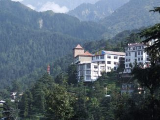 India, Dharamsala – white building, Sept.2006