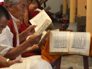 India, Dharamsala – textbook, Sept.2006
