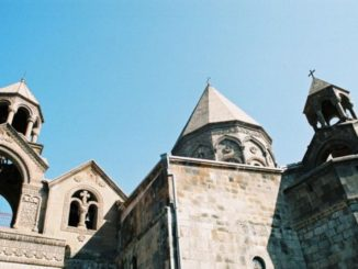 Armenia, Echmiadzin – church, Autumn 2005