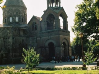 Armenia, Echmiadzin – the head temple, Autumn 2005