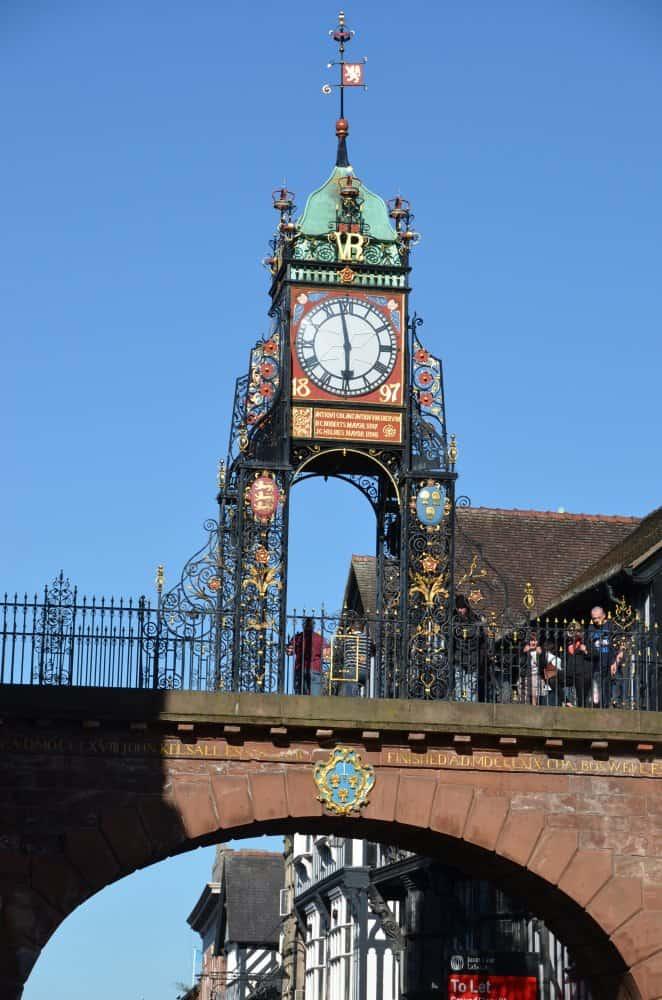 Il secondo orologio più popolare, a Chester