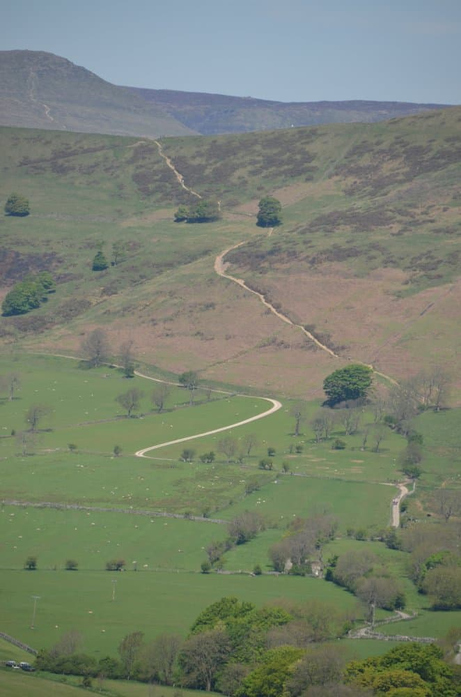 This is the Hadrian's Wall