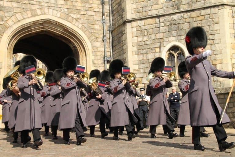Marcia delle guardie