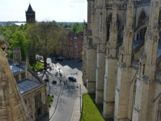 Climb up York Minster