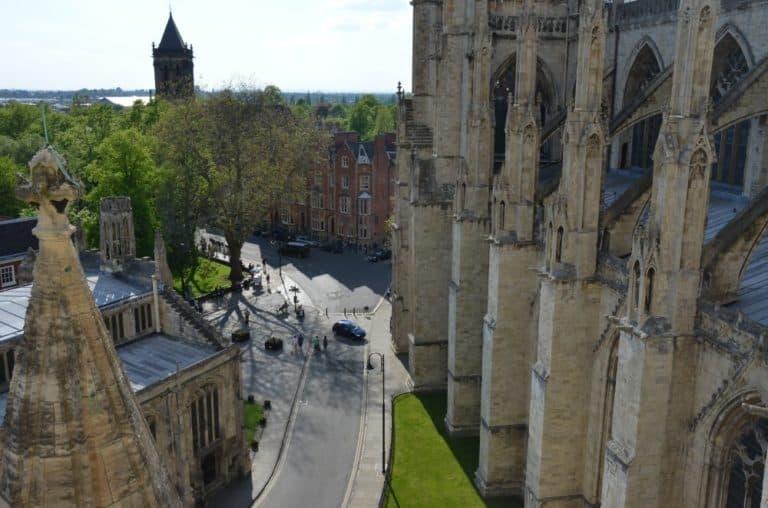 Climb up York Minster
